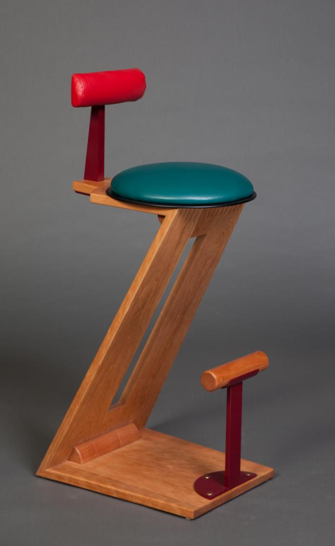 bar stool, stool, kitchen stool, kitchen seating, Z stool, Cherry stool