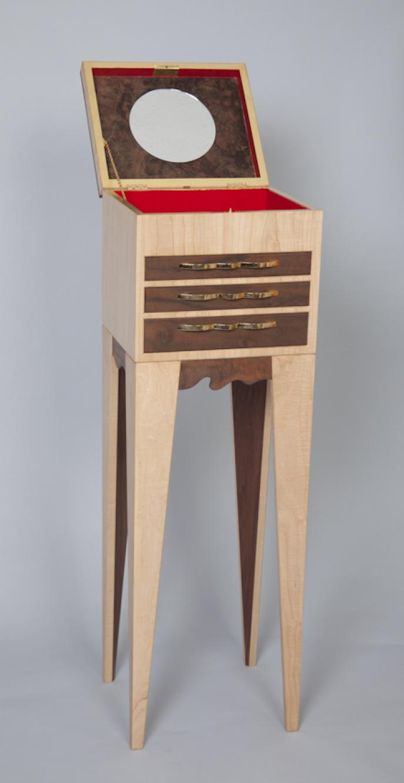 custom furniture, jewelry case