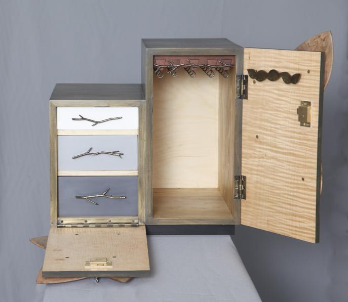 Jewelry Cabinet, Jewelry Safe, custom furniture