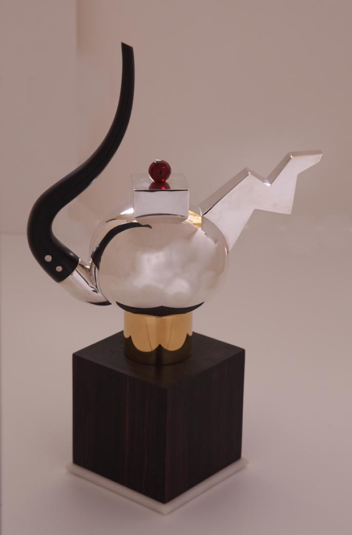 teapot, silver teapot,