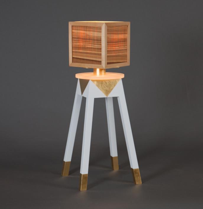 Lamp, custom lighting, art lamp, one of a kind