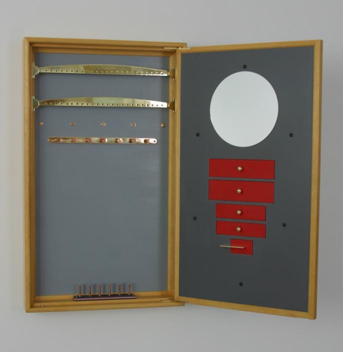Jewelry Cabinet interior