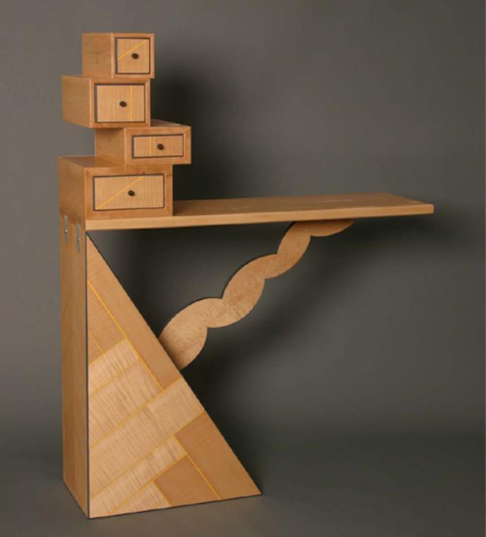 sideboard, entry, Maple furniture, furniture, studio furniture, custom furniture